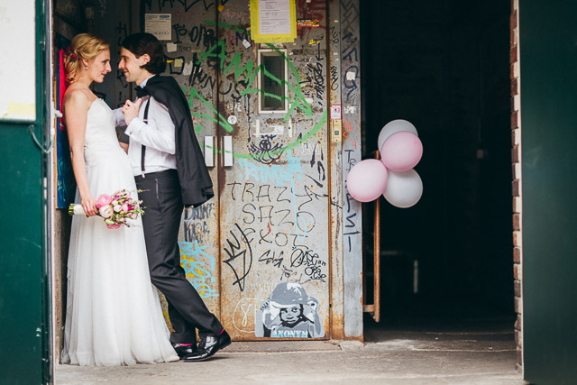 Urban Wedding Photography - Fabrik 23 Loft